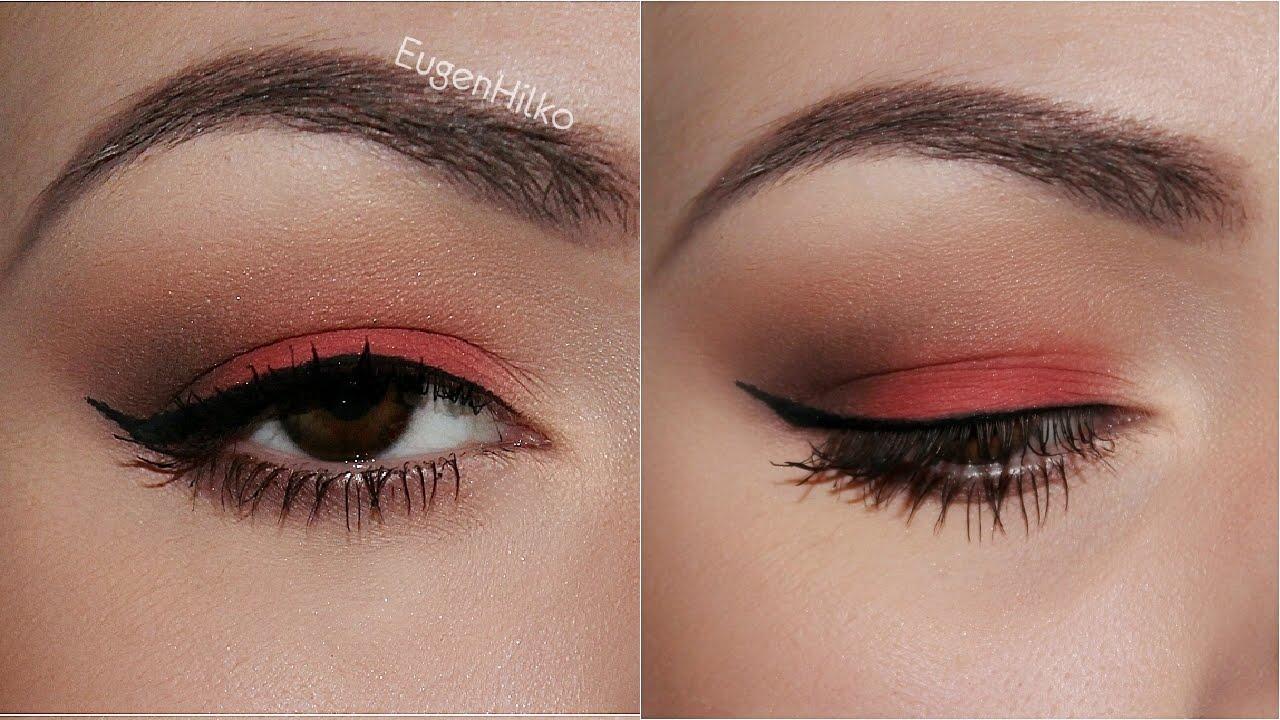 Как сделать красивый макияж тенями фото 887