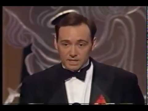 Kevin Spacey wins 1991 Tony Award for Best Featured Actor in a Play