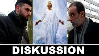 Diskussion zwischen Jesus Nachfolger und Ibrahim Abu Nagi - Die wahre Religion - Lies Infostand