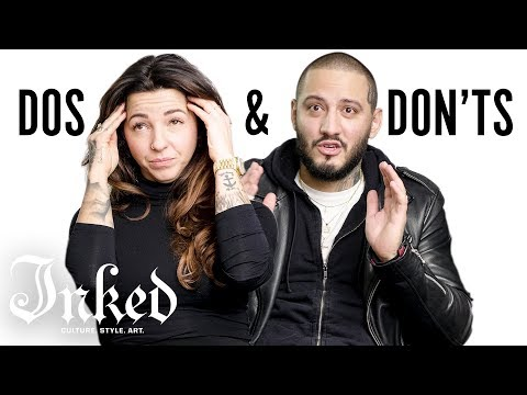Tattoo Dos and Don'ts with Dez and Trudy | INKED