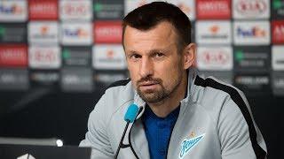 «Зенит» — «Славия»: послематчевая пресс-конференция