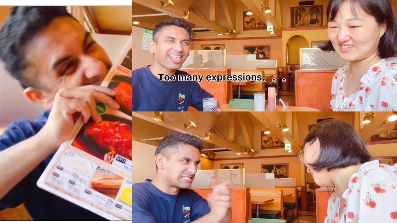 What a funny guy ||eat saizeriya with boyfriend|| @Legions Life ||日本疫情严重期间和男友吃餐厅