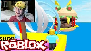 Roblox / Escape the Giant Burger Obby / Facecam / Chad Alan Plays