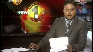 News 1st Prime time 8PM  Shakthi TV news 15th June 2015