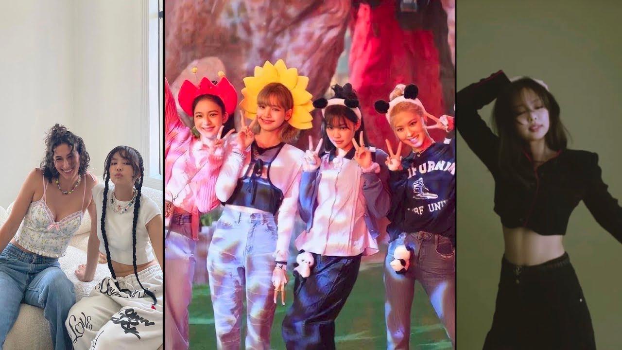 Jennie for Elle Korea, Blackpink at Everland Update 28/7/21