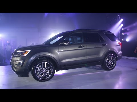 Ford Philippines Unveils The All New 3 5l Explorer Sport With Ecoboost Youtube
