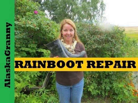 Repair Rain Boots With AquaSeal