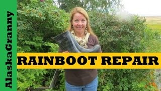 Repair Rain Boots With AquaSeal
