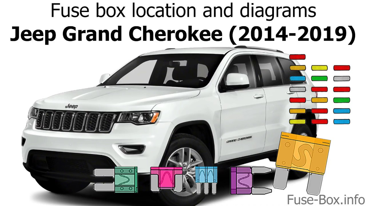 Fuse Box Location And Diagrams  Jeep Grand Cherokee  2014-2019