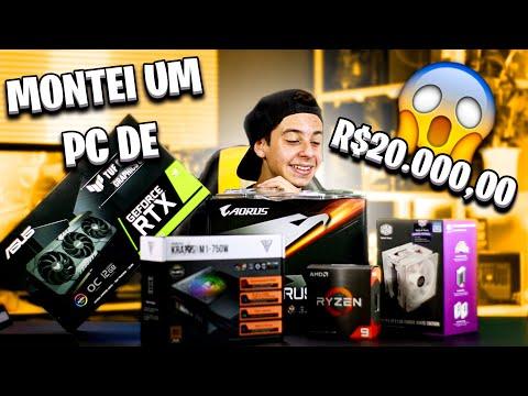 CONFIGURAÇÕES DE UM PC DE 20K