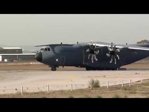 Turkish Air Force Airbus A400M Atlas (14-0028) Take Off Seville LEZL