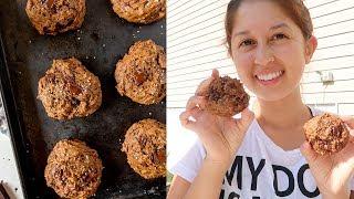 Vegan Salted Peanut Butter Chocolate Chunk Cookies