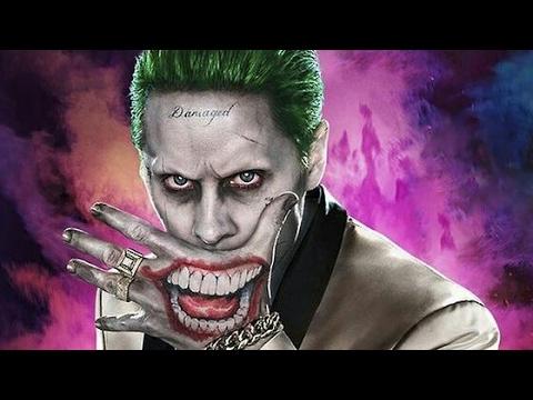 Tatuaje Del Joker Lavable De La Pelicula Suicide Squad Rinconcito