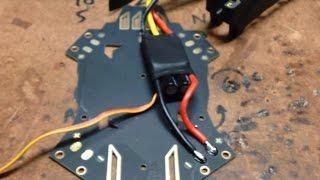 Q330 Quadcopter Build Part 1. Motors and ESCs. Turnigy 1400kV 2826 Motors