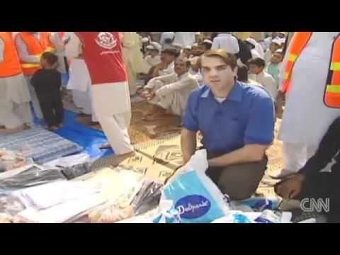 MWF Minhaj Welfare Foundation on CNN Flood Relief Activities by No1 Transparent Welfare Organization