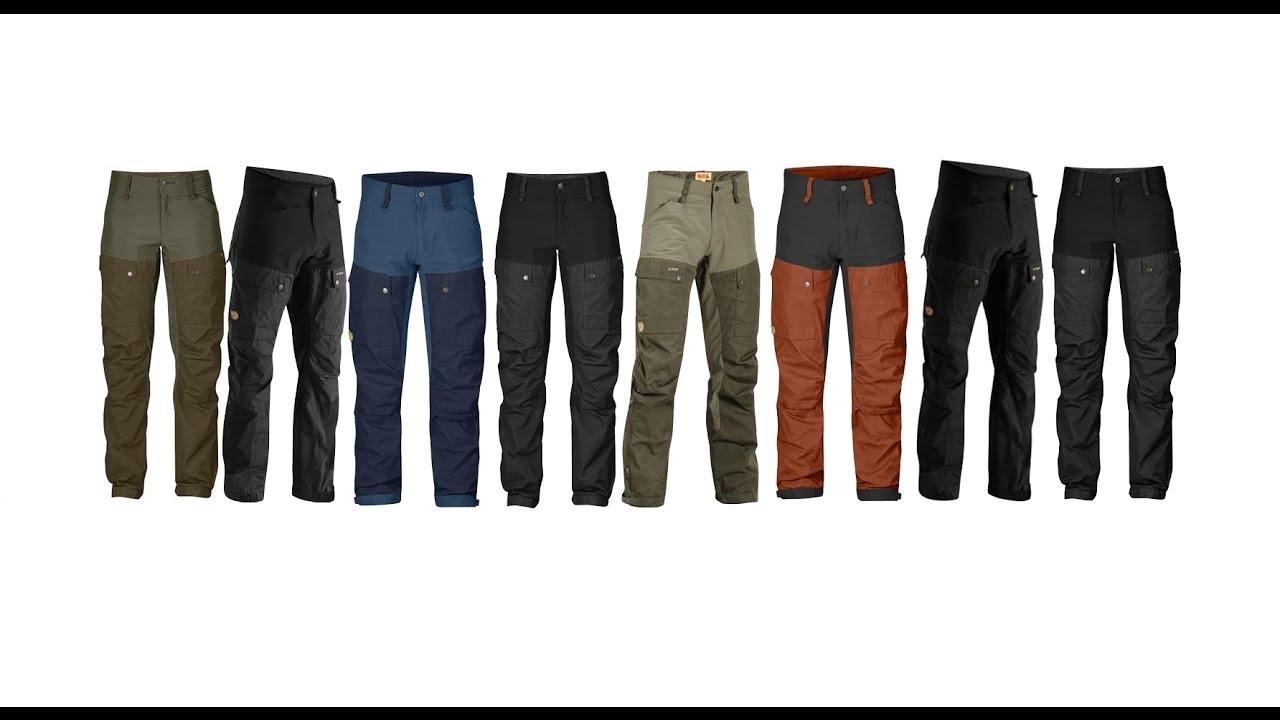 Fjällräven Keb Curved Trousers Womens, Deep Forest Laurel