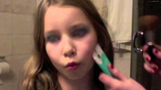 New years eve makeup 4 little girls