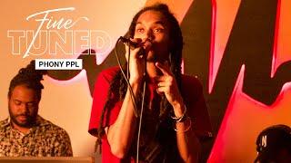 "Phony Ppl ""Fkn Around"" (Live Version) | Fine Tuned"