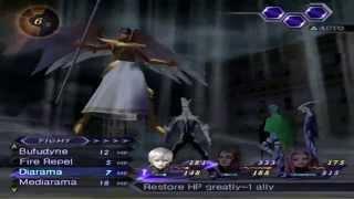"Shin Megami Tensei: Digital Devil Saga 2 - Optional Boss 4/""The four Archangels"" - Hard Mode [HD]"
