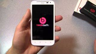 HTC Sensation XL Unboxing