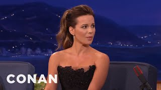 kate beckinsale transvaginal mesh helped my american accent conan on tbs