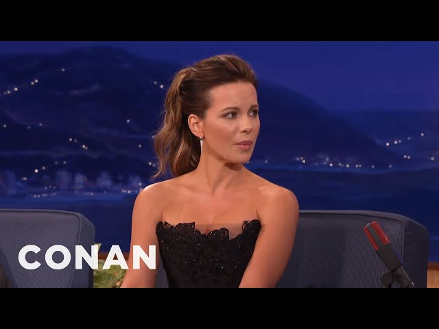 Kate Beckinsale\: Transvaginal Mesh Helped My American Accent  - CONAN on TBS