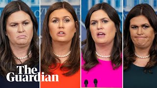 Sarah Sanders and her fiery relationship with the media
