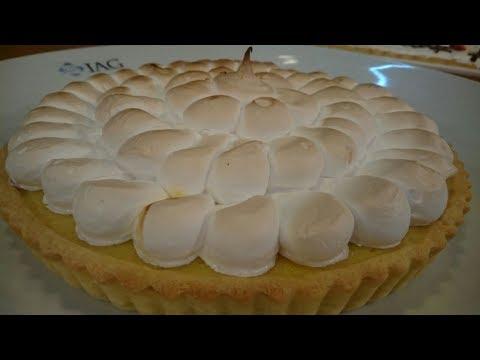 Receta dulce: lemon pie