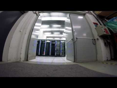 On board a racing drone for a tour of the CERN Data Centre