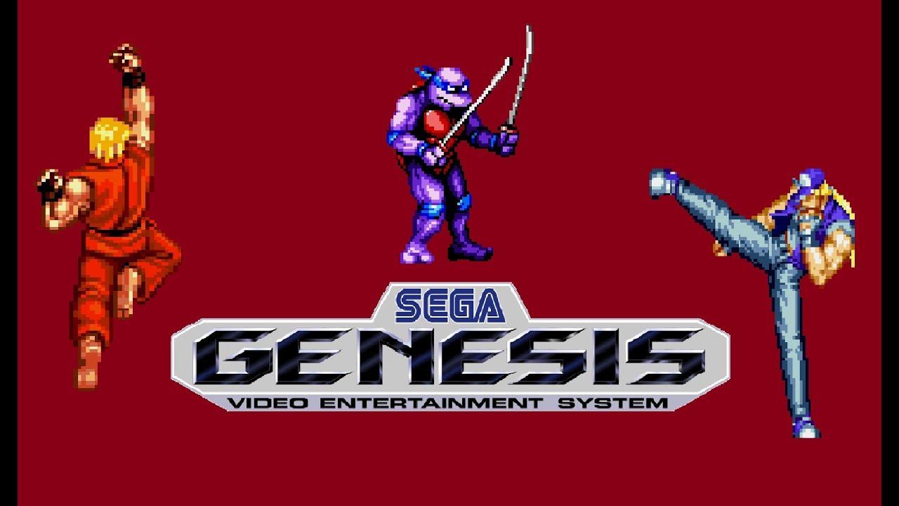 list of all sega genesis fighting games