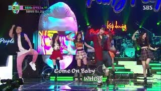 (ENG SUB) Blackpink and JYP dance That girl with Yonghwa CNBLUE