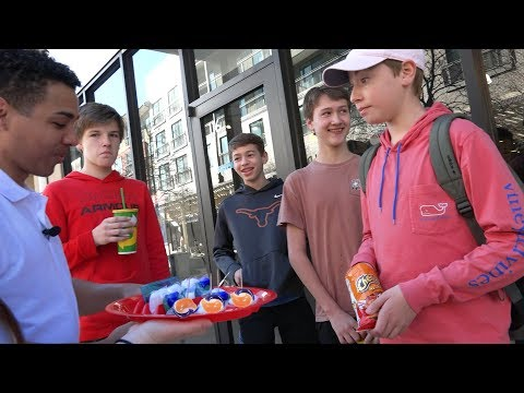Asking People to do the Tide Pod Challenge