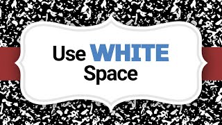 Design 101 | How to Use White Space | Big Brand System
