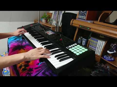 【バンドリ!】R (full Ver.)のキーボードを弾いてみた
