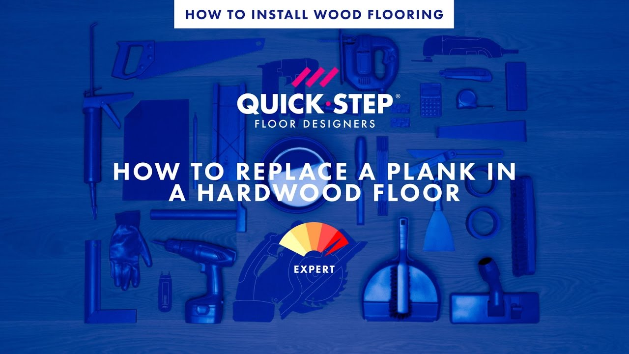How To Replace A Plank In A Hardwood Floor Tutorial By Quick - How to replace hardwood floor