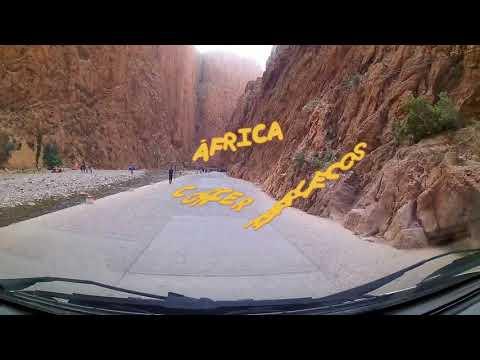 Nº 193 VIAJAR MARRUECOS Tinerhir  Ouarzazate ÁFRICA.