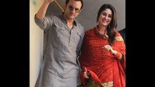 Kareena Kapoor Saif Ali Khan wedding. Part 1