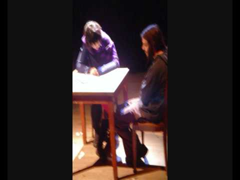 SCENOGRAPHY 09/10 DEPARTMENT OF VISUAL AND APPLIED ARTS UNIVERSITY  OF WESTERN MACEDONIA