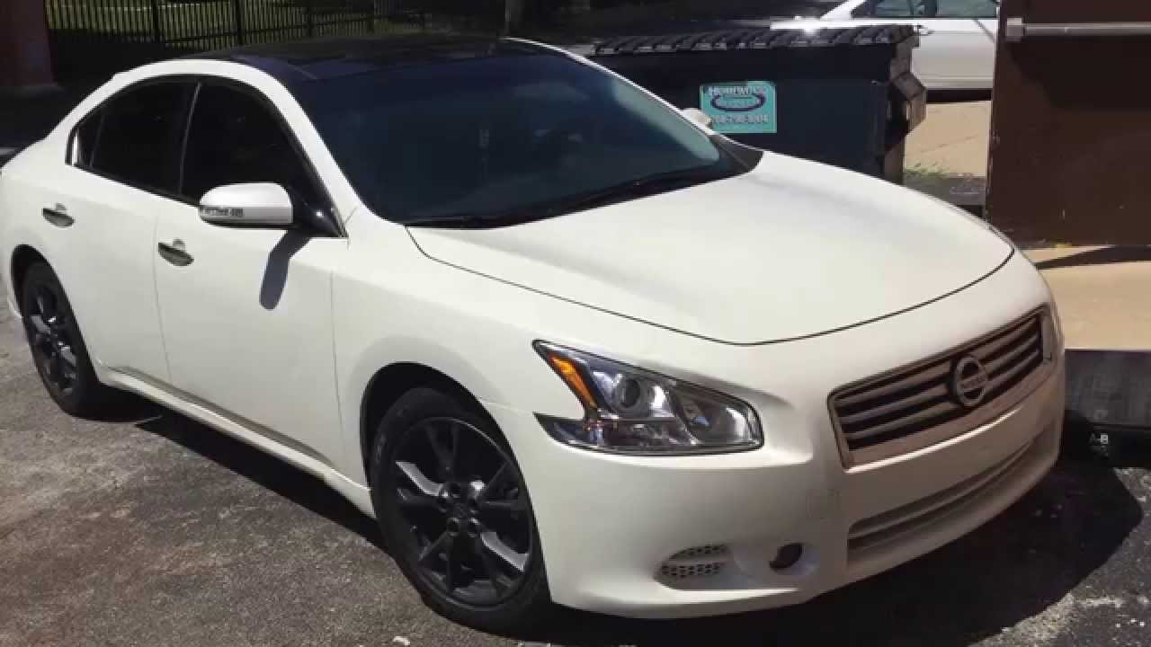 2012 Nissan Maxima >> 2012 Nissan Maxima with push button start upgrade remote ...