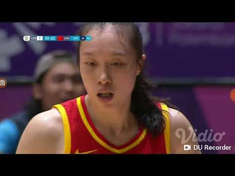 Asian Games 2018 Basketball 5x5 Women's Final 4Q China Vs Korea
