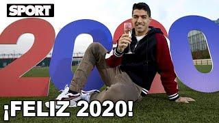 LUIS SUÁREZ OS DESEA A TODOS UN FELIZ AÑO NUEVO 2020 🥂