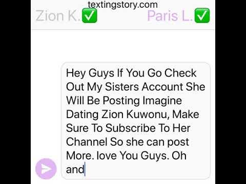 dating zion kuwonu