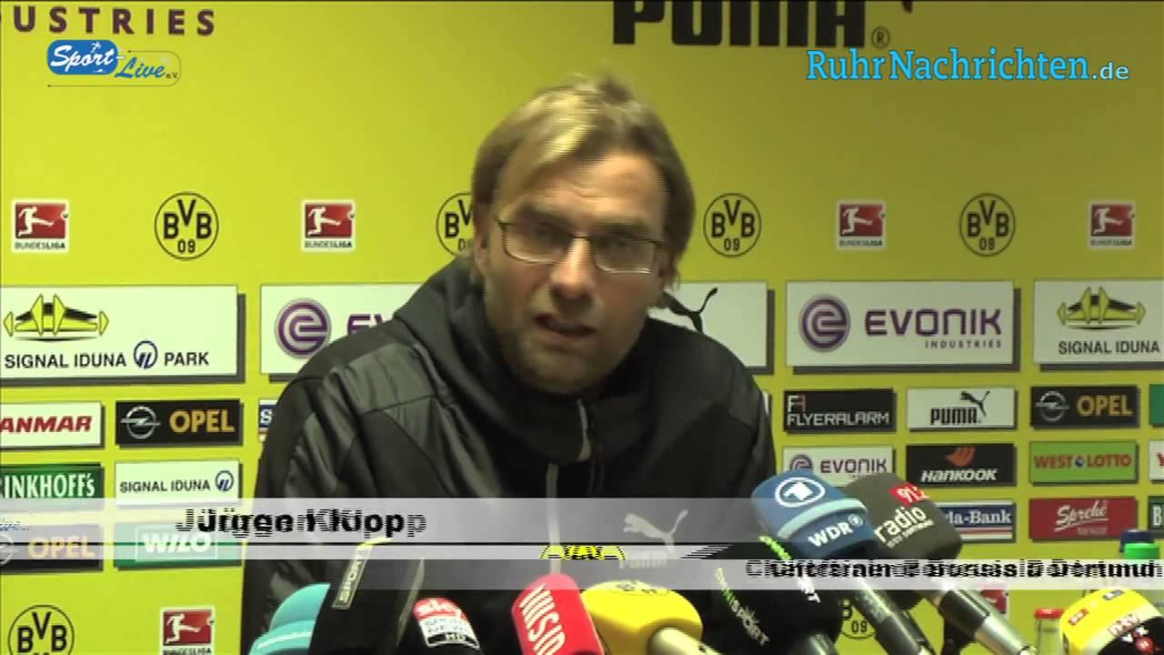 BVB Pressekonferenz vom 29. Oktober 2012 vor dem DFB Pokalspiel zwischen dem VfR Aalen und Borussia Dortmund