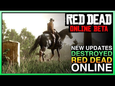 Red Dead Redemption 2 Online Update Killed Red Dead Online! Is This The End Of RED DEAD ONLINE?