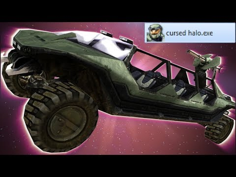 Halo Except It's Incredibly Cursed
