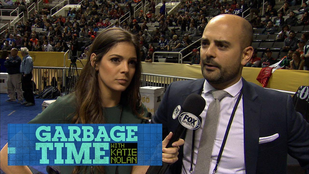 Katie Nolan Goes To Super Bowl Media Day