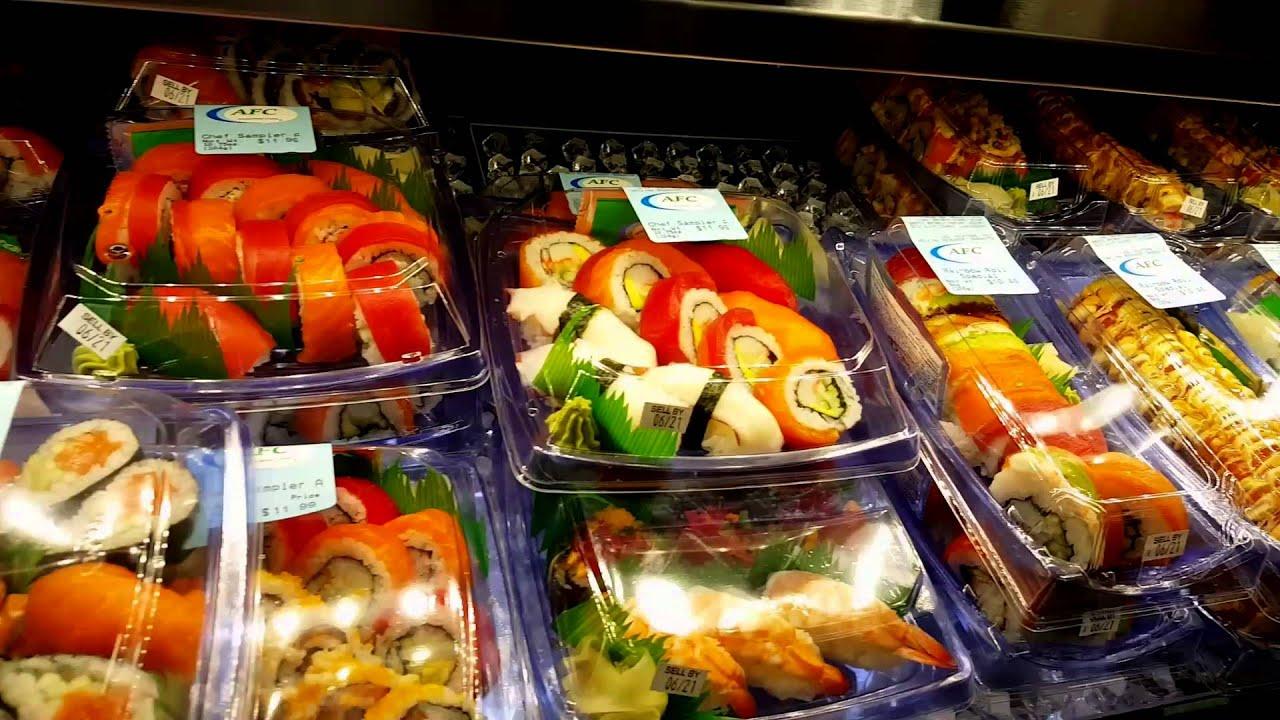 I Sushi Cafe Menu