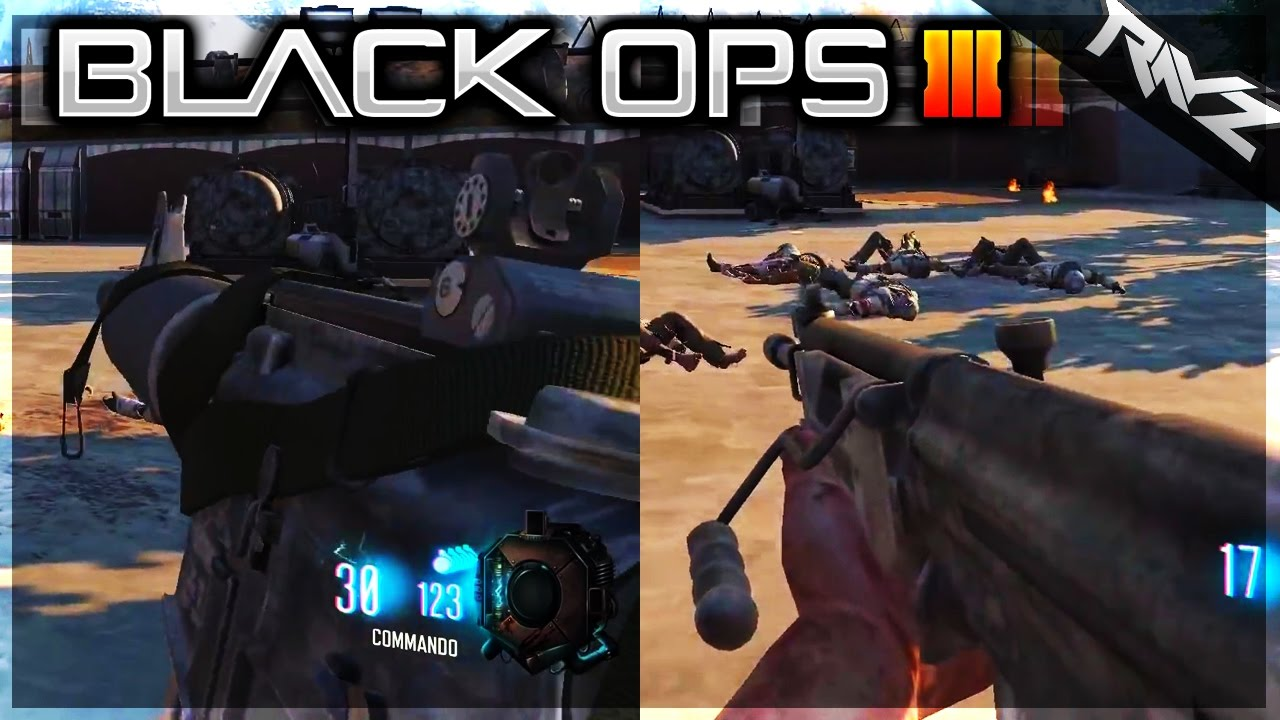 galil acr commando amp more weapons in black ops 3 black
