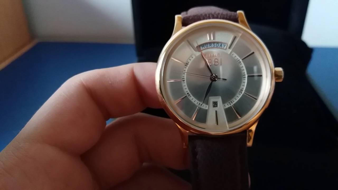 f90b7aa8f0f49 Cerruti 1881 Watch Review - YouTube