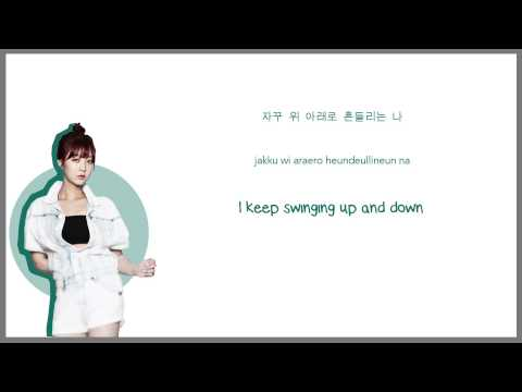 Up & Down - EXID - Han | Rom | Eng Color Coded Lyrics Sub